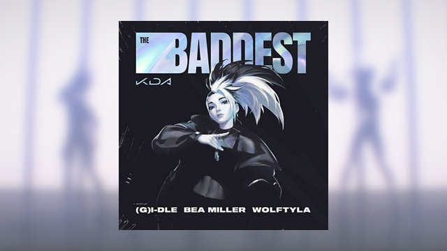 K/DA The Baddest song cover art