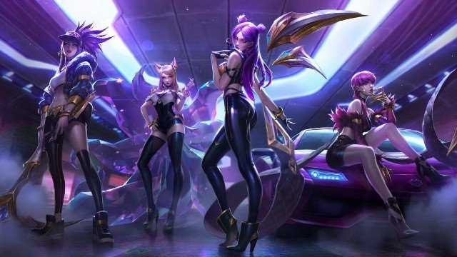 League of Legends KDA new single
