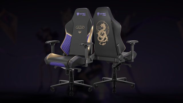 Secretlab x League of Legends gaming chairs KDA