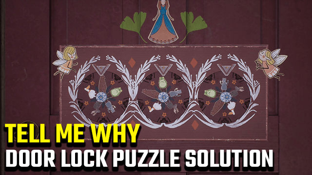 Tell Me Why Door Lock Puzzle