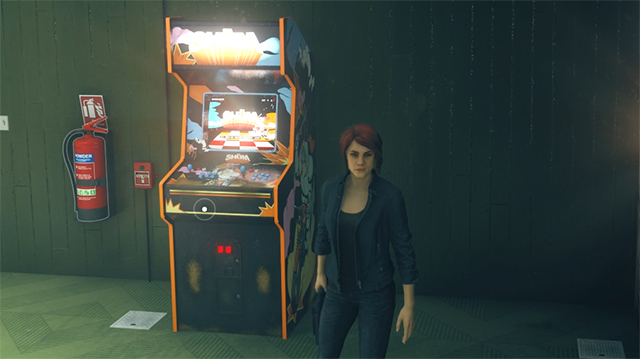 How to find the Shum arcade cabinet in the Control AWE DLC