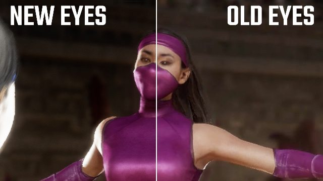Mortal Kombat 11 changed Mileena's eyes and the relentless fans have noticed