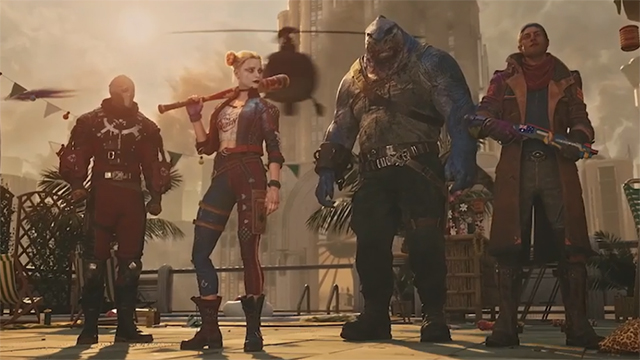 Suicide Squad game trailer debuts first ever footage