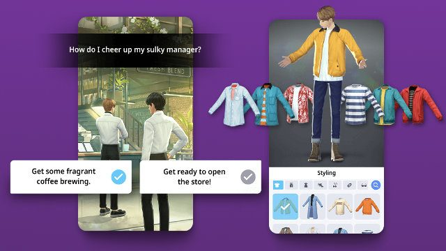 BTS Universe Story BTS mobile game Android iOS choices