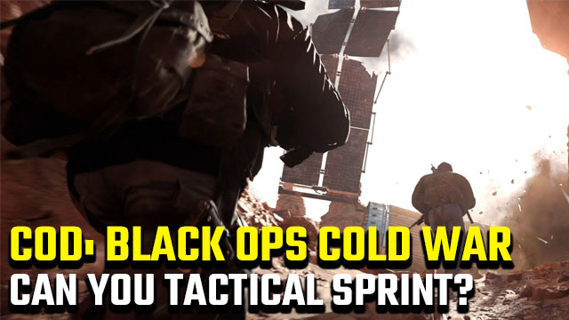 Can you tactical sprint in Black Ops Cold War?