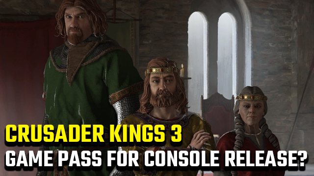 Crusader Kings 3 Xbox Game Pass for console