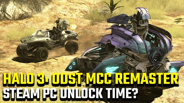 Halo 3 ODST PC unlock time Steam