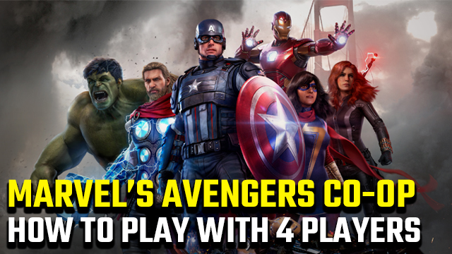 how to play 4-player co-op in Marvel's Avengers