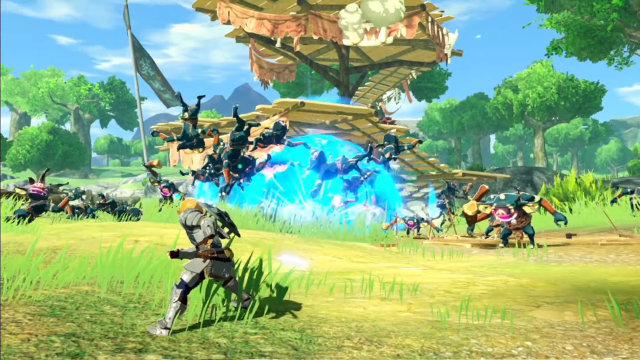 Hyrule Warriors: Age of Calamity release date Nintendo Switch bomb