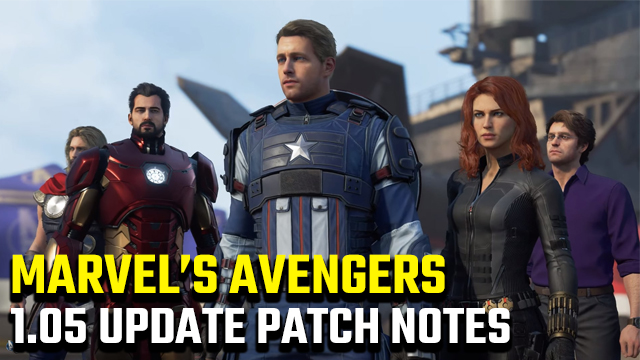 Marvel's Avengers 1.05 update patch notes