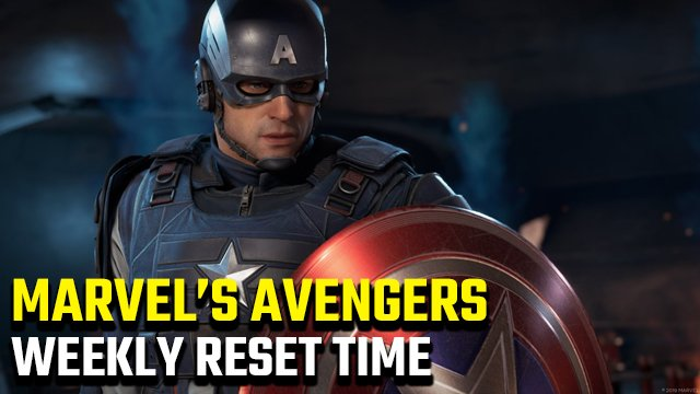 Marvel's Avengers weekly reset time
