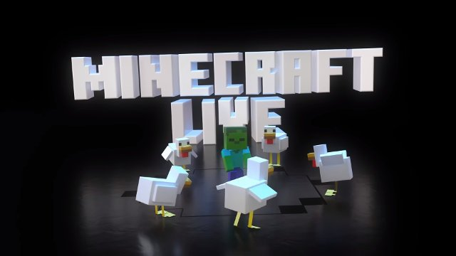 Minecraft Live Minecon replacement baby Zombie chickens