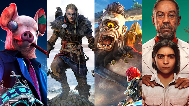 Ubisoft is pushing it with four open-world games in under four months