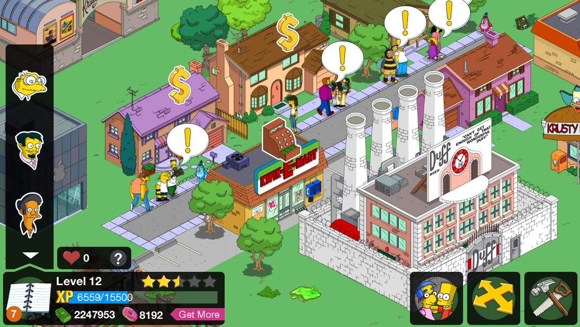 The Simpsons: Tapped Out iPhone Cheats - GameRevolution