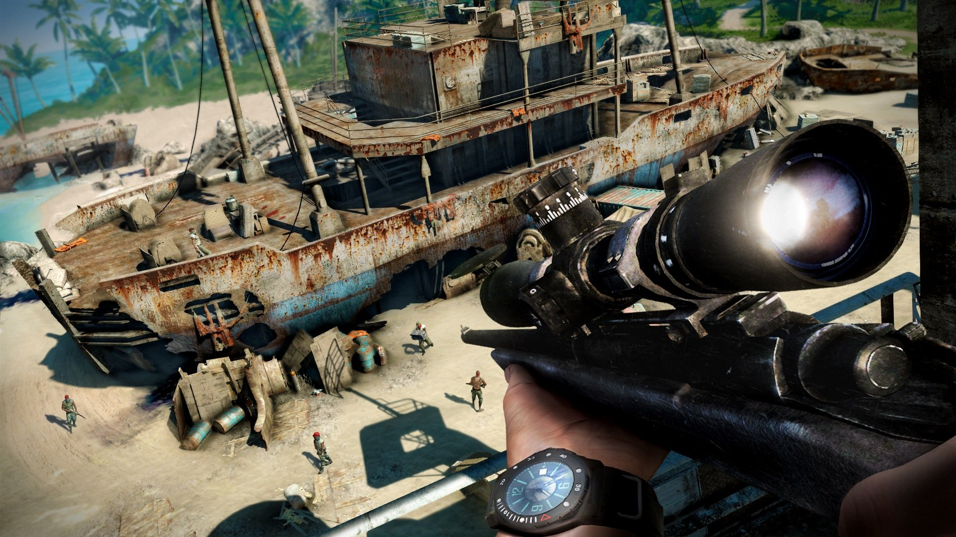 far cry 3 memory card locations map
