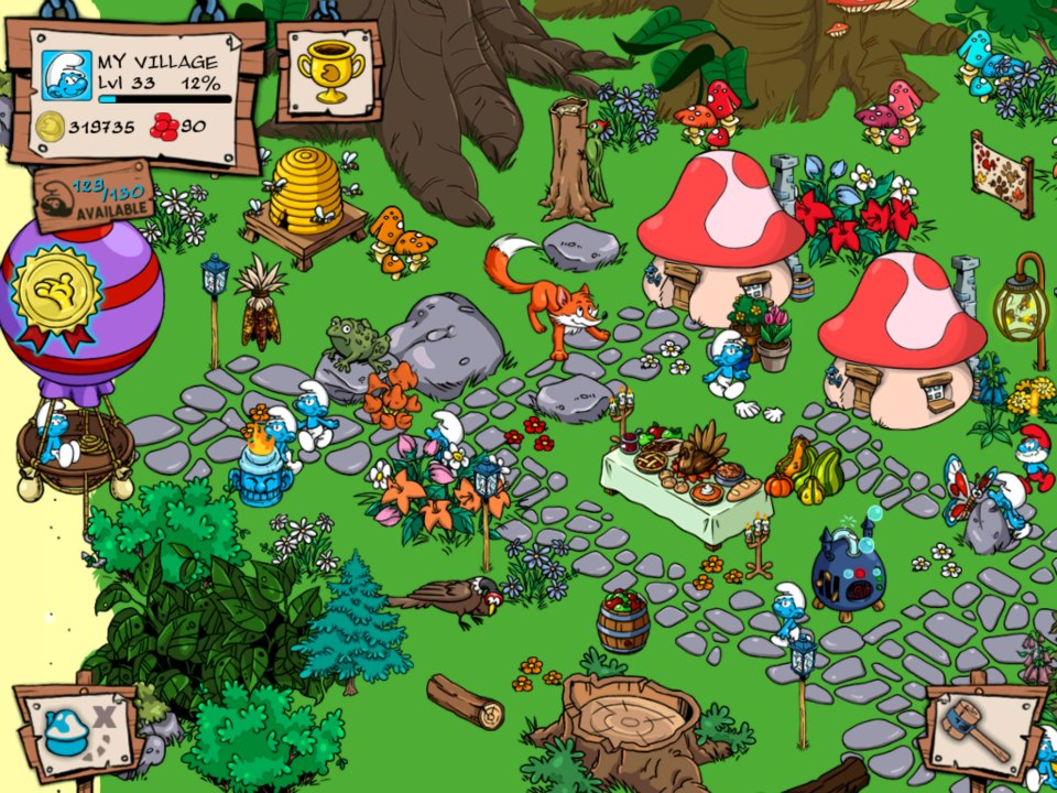 Smurfs' village apps on google play.