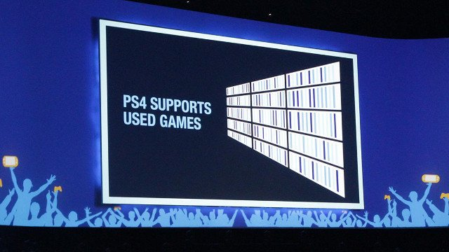 E3 2013: PS4 Supports Used Games