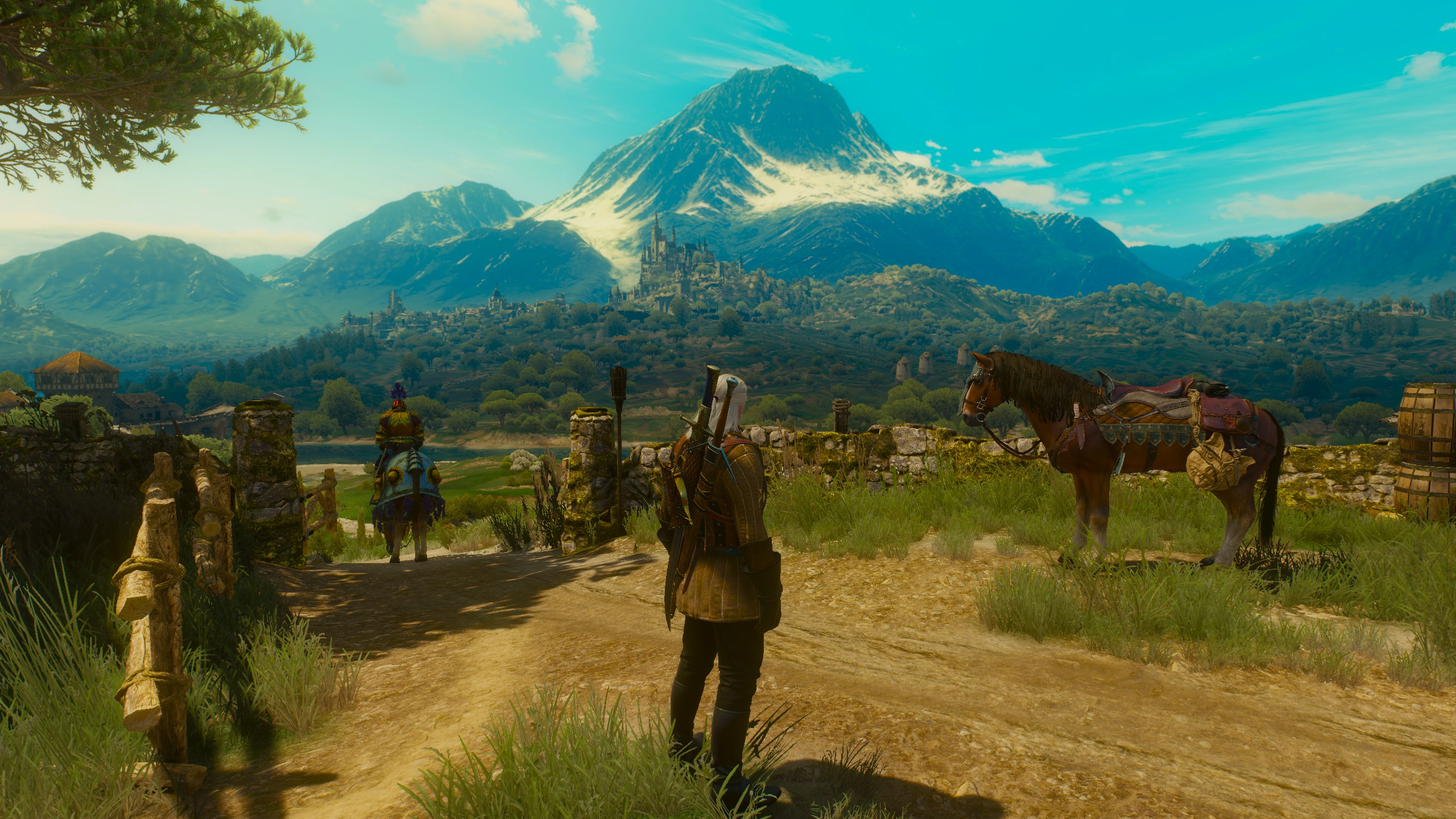 The Witcher 3 Blood And Wine At 1440p Looks Beautiful On A Gtx