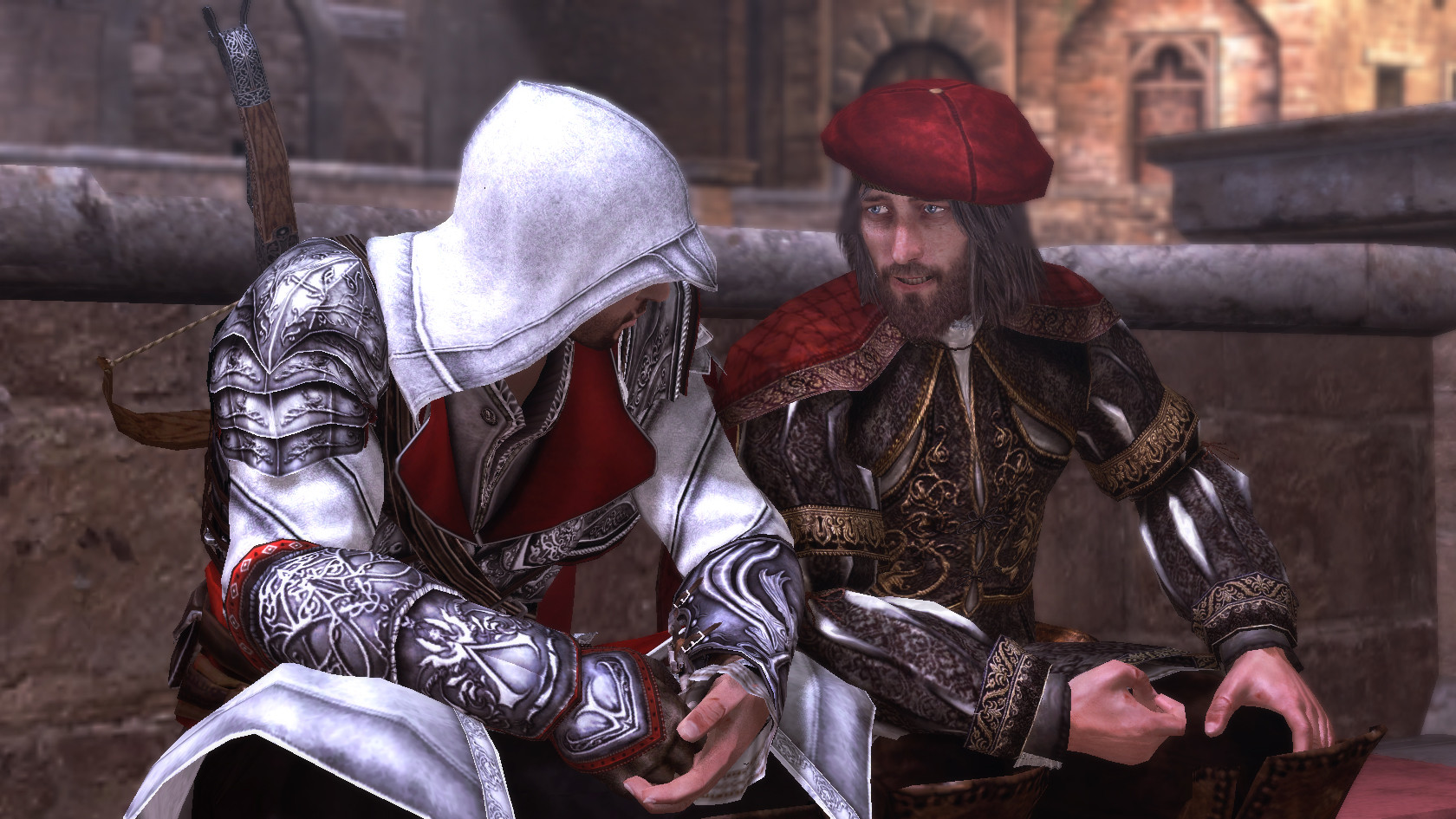5. Leonardo Da Vinci - Assassin\'s Creed Brotherhood