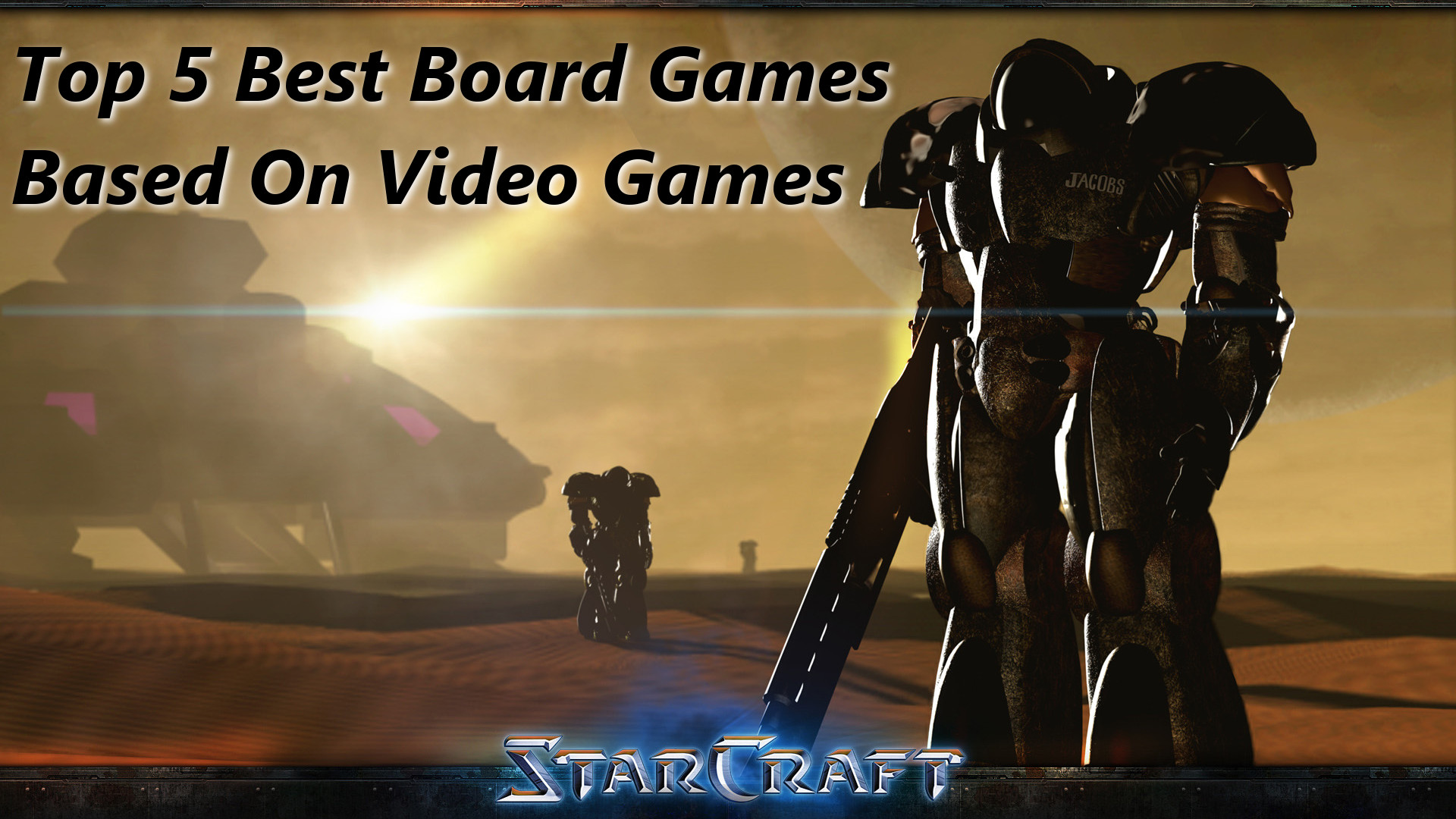 Top 5 Best Board Games Based On Video Games