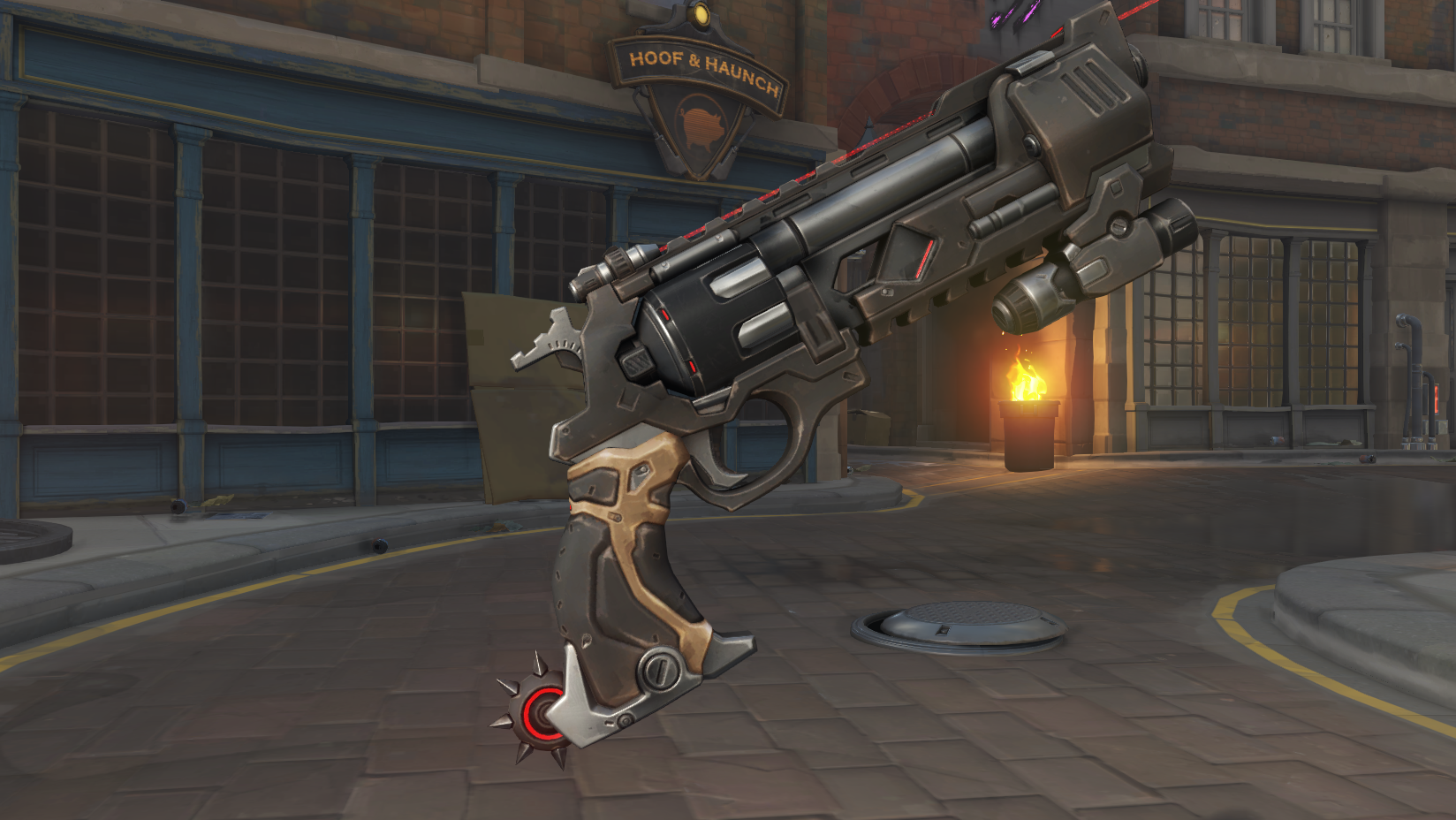 McCree - Blackwatch Gun (Legendary)