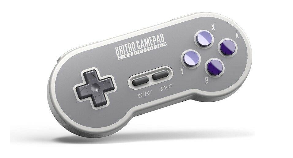 8Bitdo SN30 2.4G Wireless Controller for SNES Classic Edition – $19.99 (50% off)
