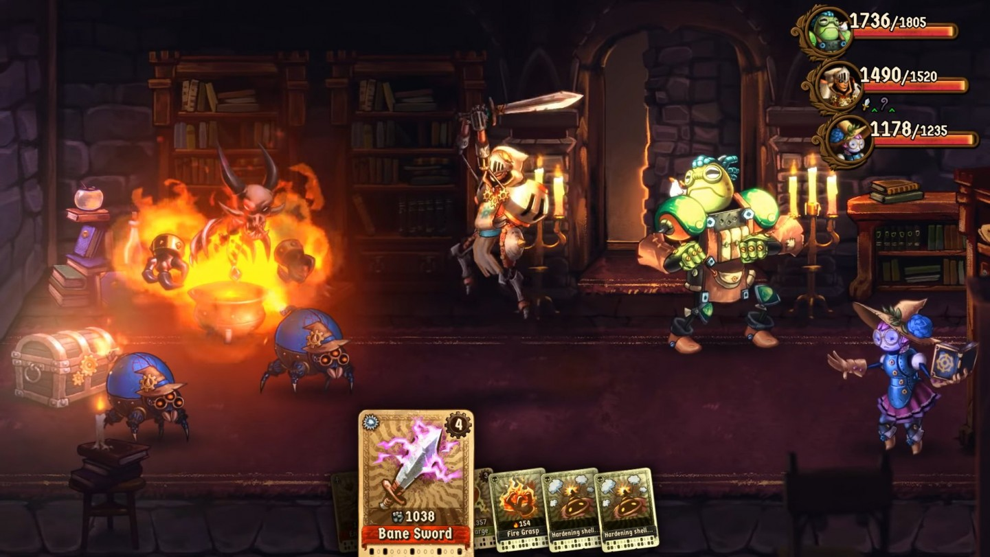 SteamWorld Quest and the Top 10 Deck Building games