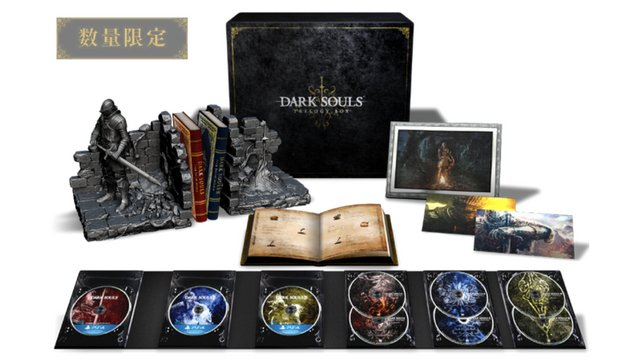 Dark Souls Trilogy Box Looks Beautiful
